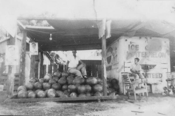 Southside Produce Market in the 1930s